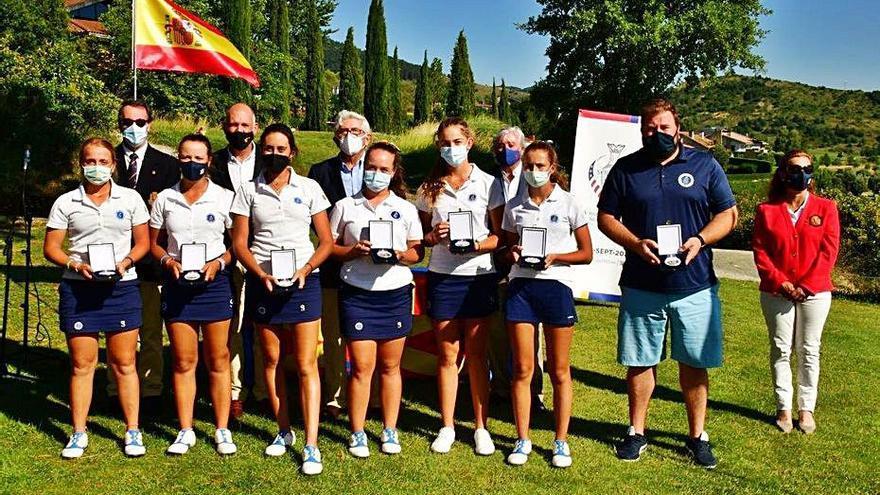Plata para el equipo femenino de la Comunidad Valenciana en el Campeonato de España de Federaciones