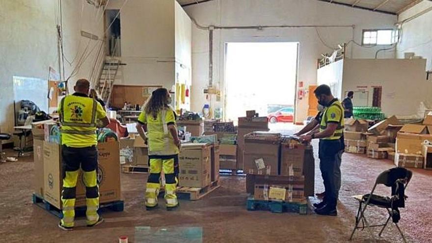 Las personas y familias más vulnerables reciben una ayuda de 3.000 euros al año