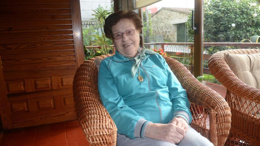 Barrantes homenajea en su Festa da Vendima a Dolores Abuín, que fue alcaldesa de dos municipios