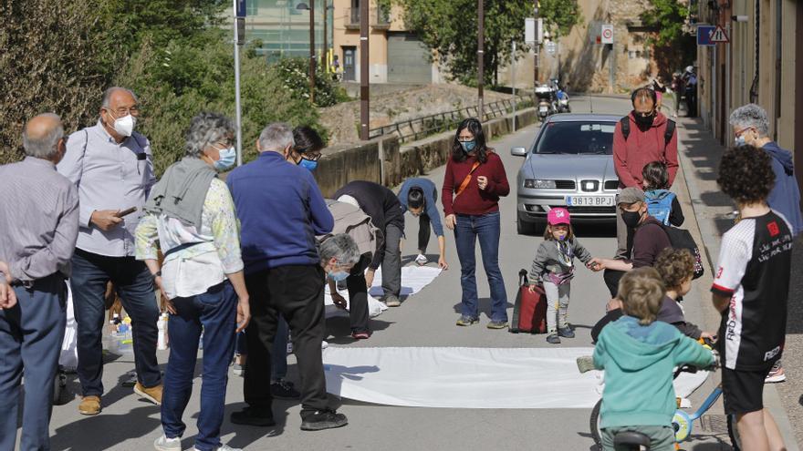 Els veïns de Sant Daniel reclamen solucions per tenir més seguretat viària