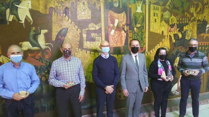 Homenaje a cuatro funcionarios del Estado en Zamora jubilados