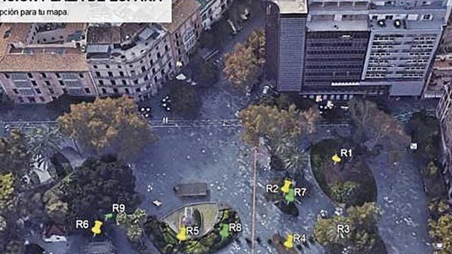 Cort atribuye las ratas de la plaza de España al mercadillo de Navidad