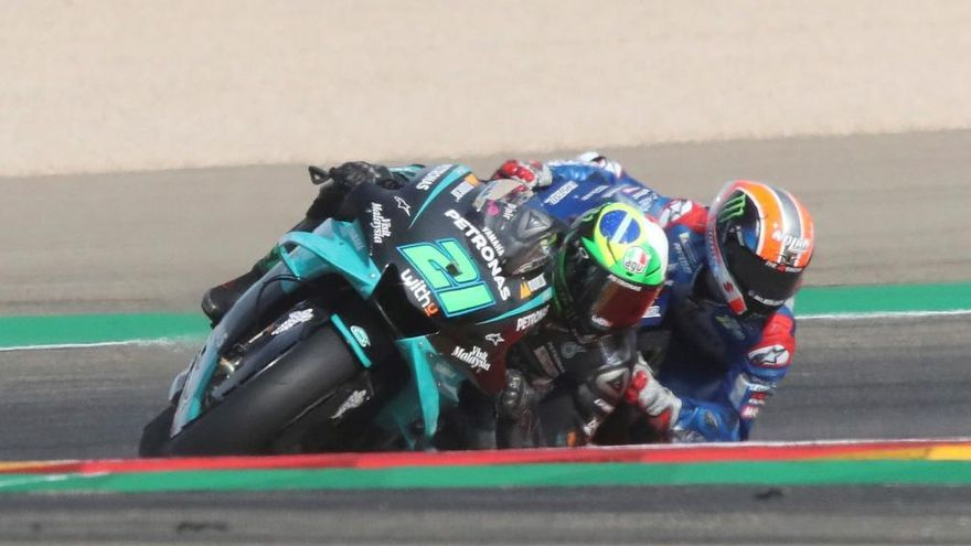 Morbidelli gana en MotorLand y Mir refuerza su liderato