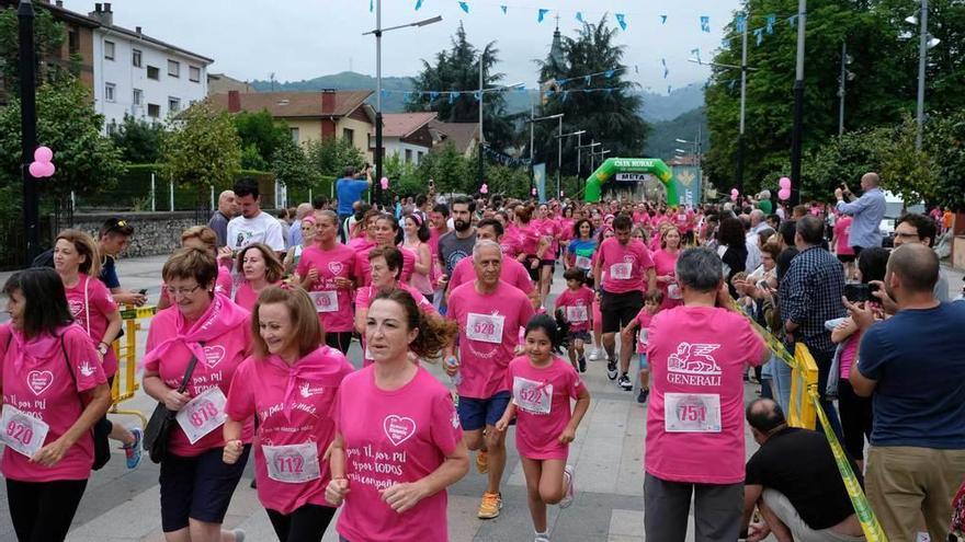 La Carrera Contra El Cáncer Reunió A Más De 1 000 Personas En Laviana La Nueva España