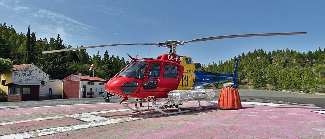 Airworks gana el concurso de   los helicópteros contra el fuego       ANDRÉS CRUZ