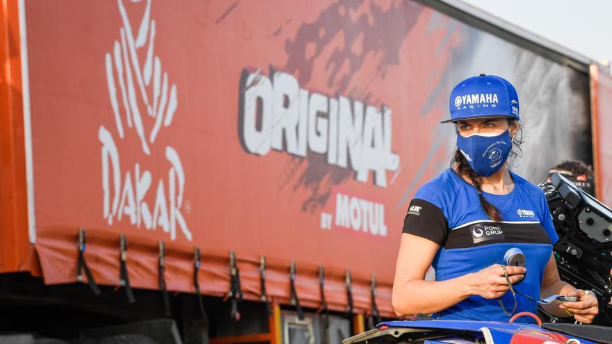 Sara García firma una primera etapa para enmarcar en el Dakar 2021