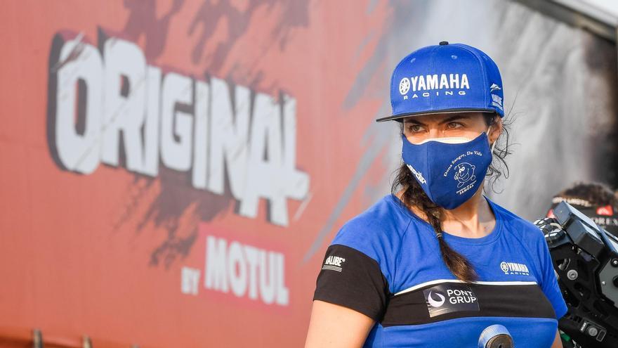 Sara García termina el prólogo del Dakar en 96ª posición