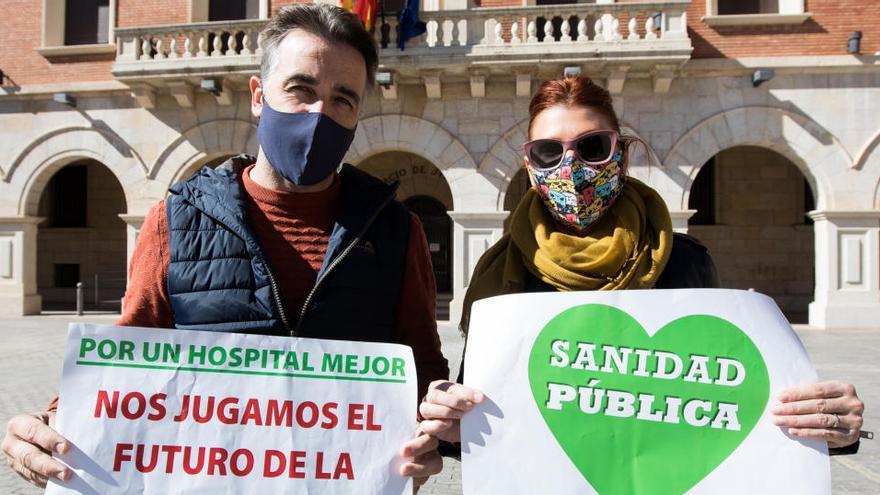 La España Vaciada reclama con microconcentraciones una sanidad rural digna