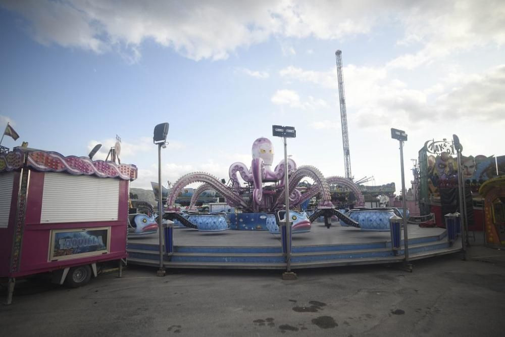 Las atracciones de la Feria de Murcia, una a una