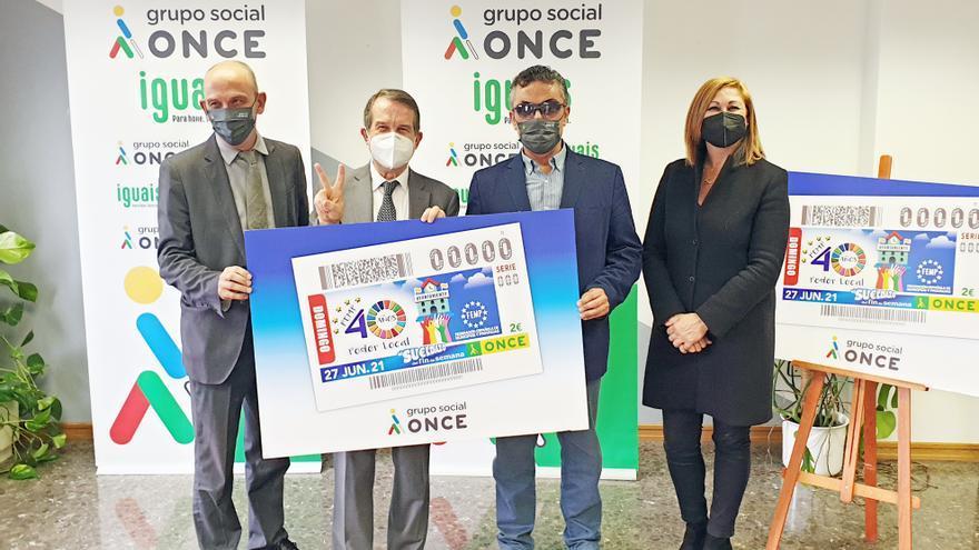 La ONCE festeja en Vigo los 40 años de la FEMP