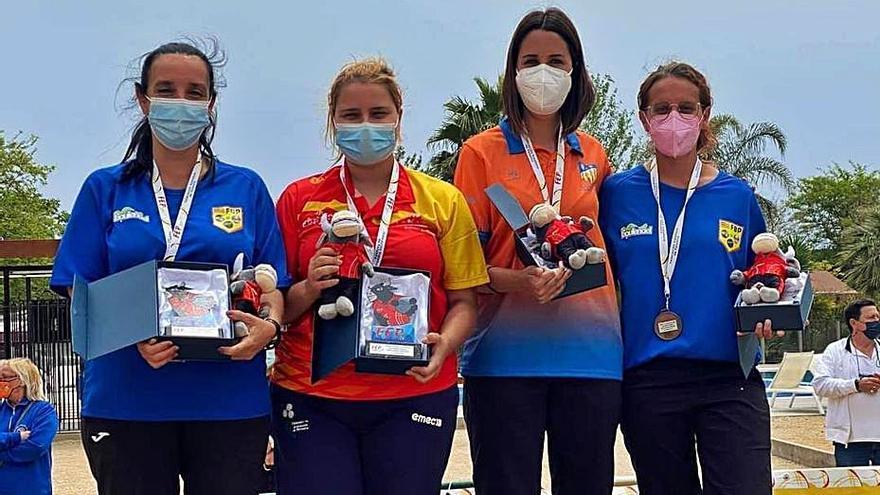 Lluvia de medallas para Balears en el Nacional de Tiro