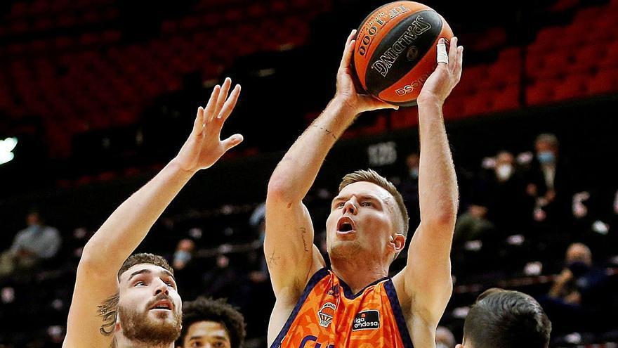 Exhibición del Valencia Basket hacia la Copa