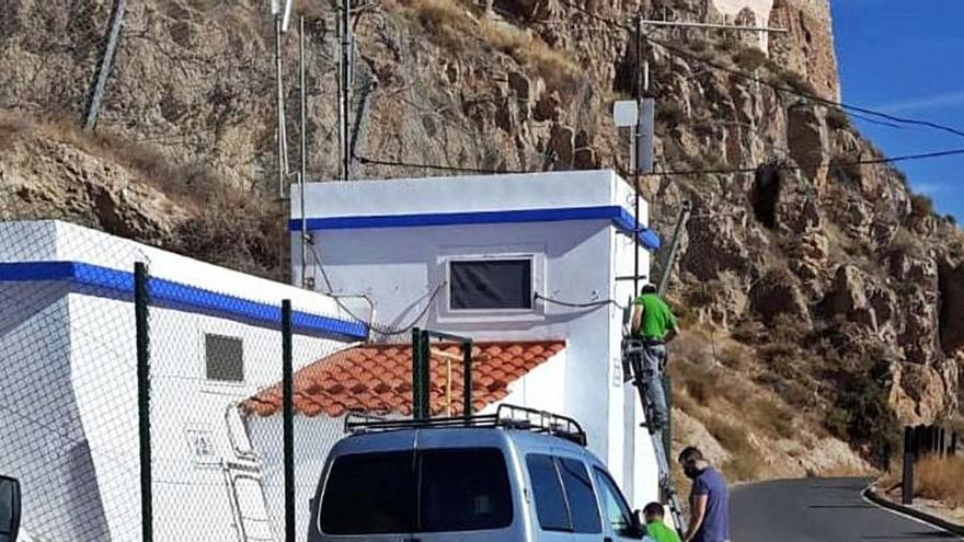 Aguas de Lorca refuerza la seguridad de sus instalaciones