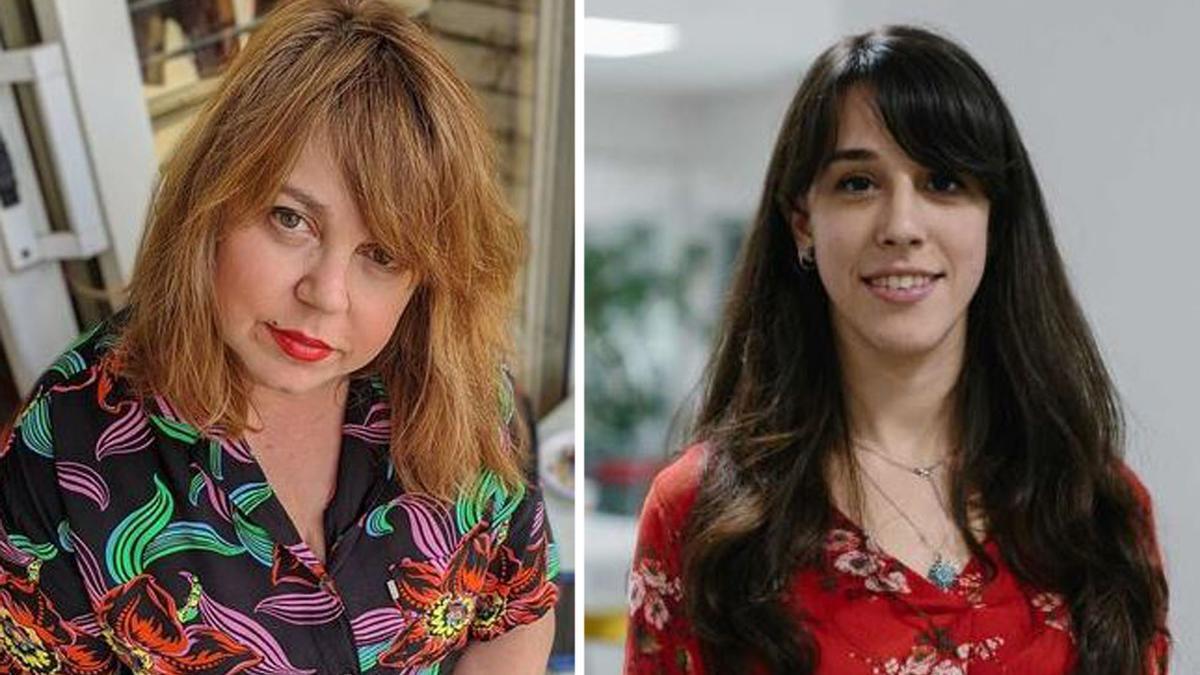 Txani Rodríguez y Marina Parés.