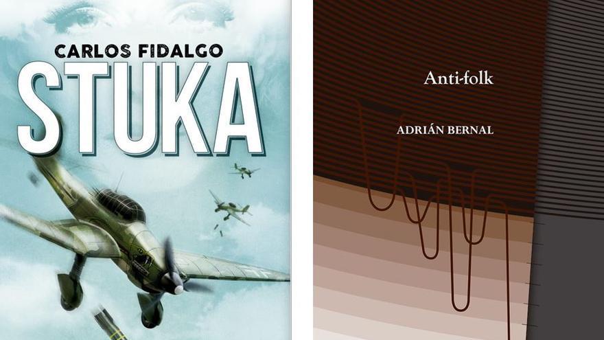 Carlos Fidalgo y  Adrián Bernal presentan sus últimos libros en Alicante