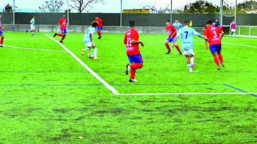 El Juvenil B empieza la Liga Nacional con una trabajada victoria en Ourense