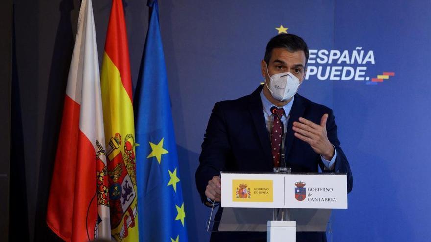 """Sánchez ve inexplicable no apoyar unos Presupuestos que """"dan aire"""" a España"""