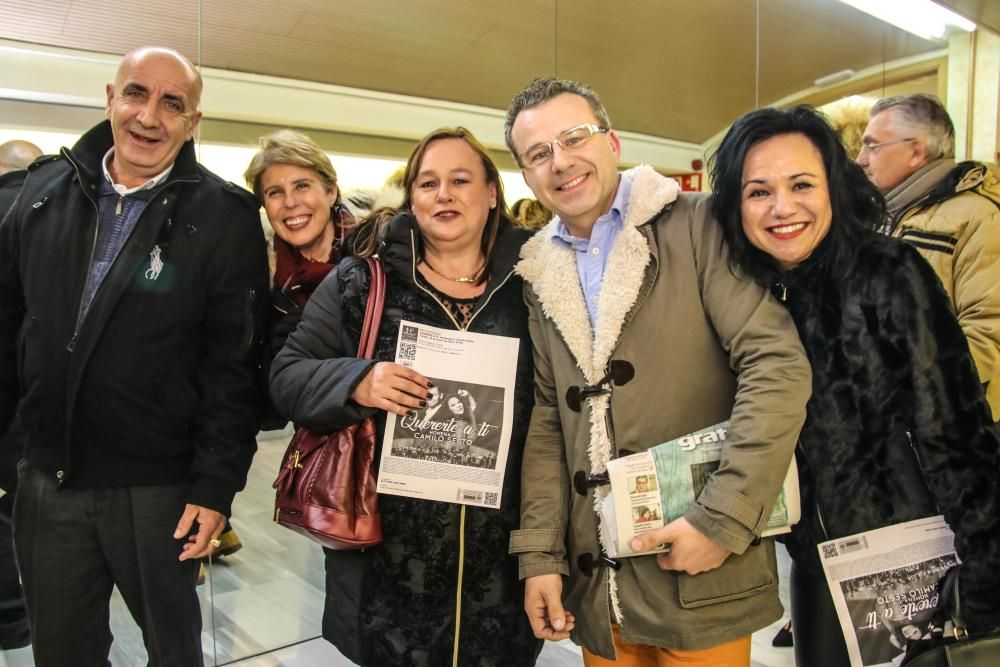 Homenaje en Alcoy a Camilo Sesto
