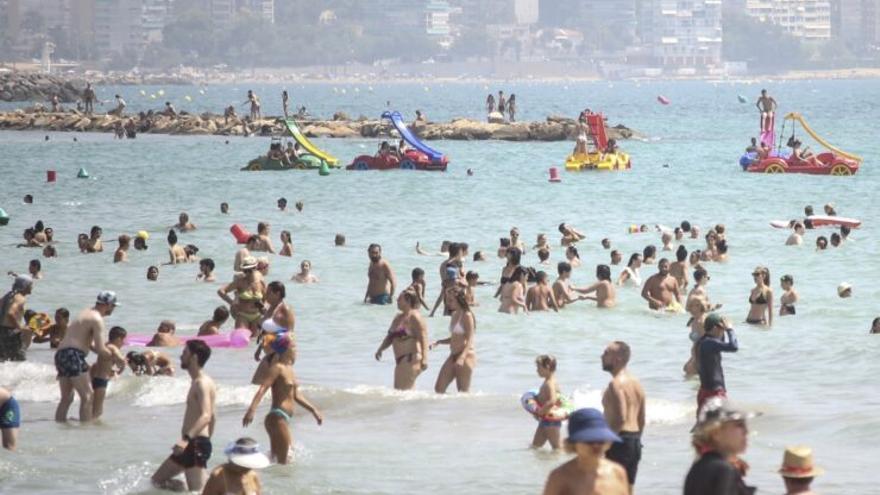 La Mediterrània ja arriba a les mateixes temperatures que el Carib