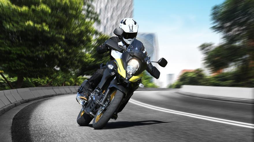 La Suzuki V-Strom 650 estrena nuevos colores