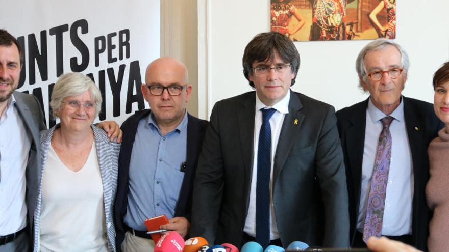 El jutjat contenciós de Madrid trasllada al Suprem la decisió sobre la candidatura de Puigdemont