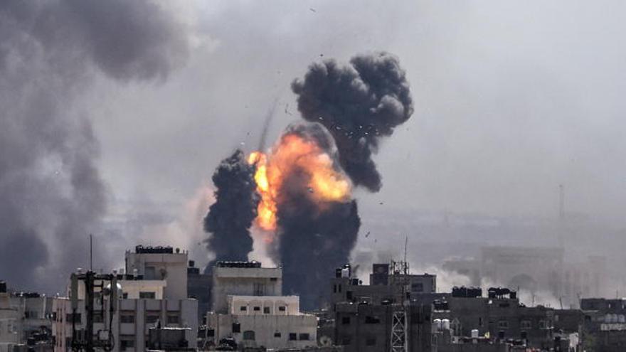 Mueren dos israelíes por cohete disparados desde Gaza
