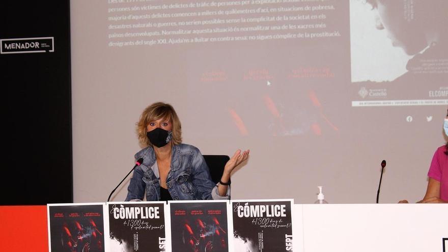 Verònica Ruiz denuncia el acoso de un periodista 'ultra' en Castelló