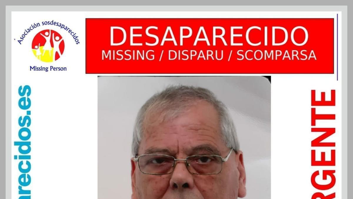 Desaparece un hombre de 72 años en Cartagena