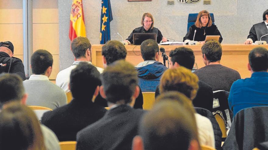 La Audiencia Nacional confirma las penas de cárcel a los agresores de Alsasua