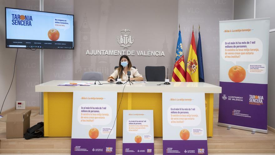"""""""Taronja sencera"""", el nuevo servicio municipal para prevenir y atender la violencia de género entre adolescentes"""