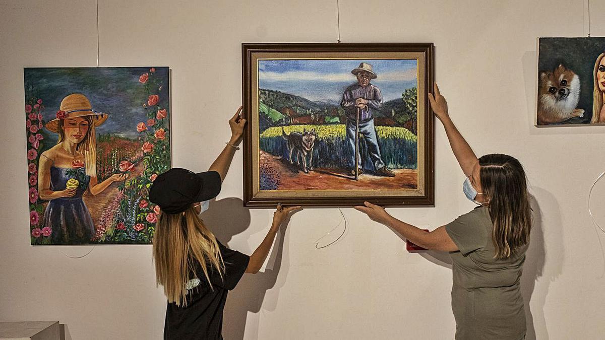 Retratos y paisajes de Zamora, de Ismael Suaña, en La Alhóndiga
