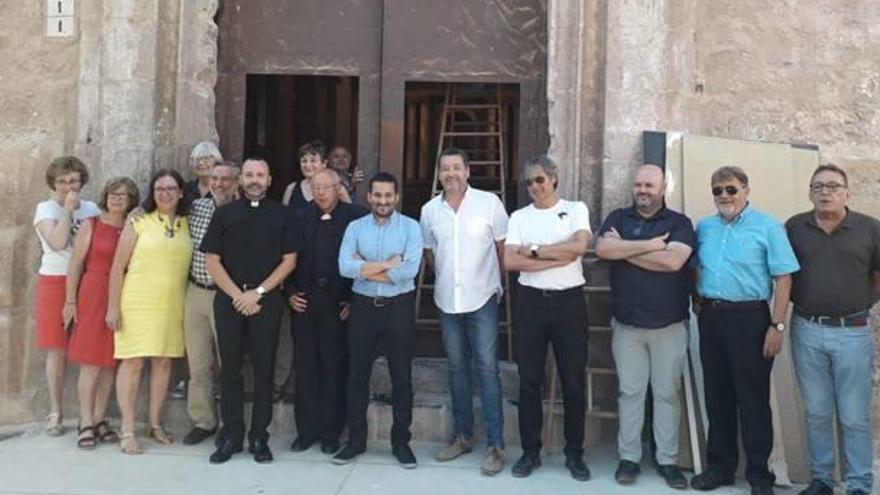 Vall de Almonacid recupera su iglesia