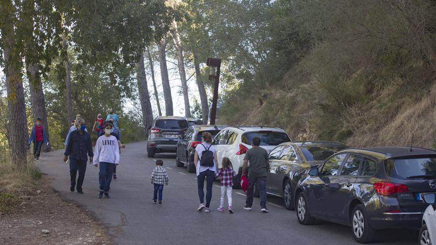 Xàtiva Unida denuncia el caos en los accesos al Castell pese a la anterior masificación