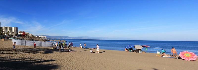 La playa Fuente de la Salud, también en Benalmádena.