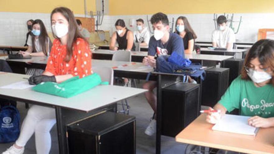 Arrancan en A Coruña las pruebas de acceso a la Universidad en el verano del Covid