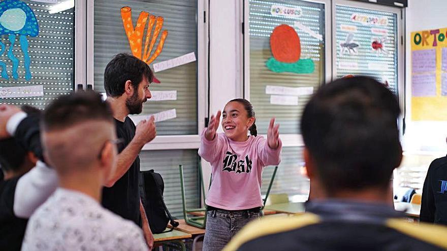 Immersió artística a l'escola Font de la Pólvora de Girona