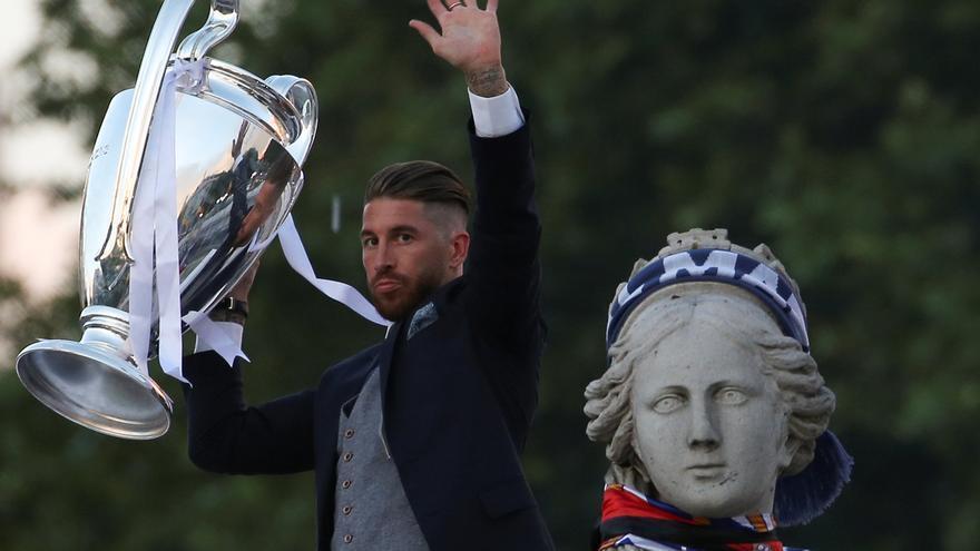Sergio Ramos, el último gran icono blanco