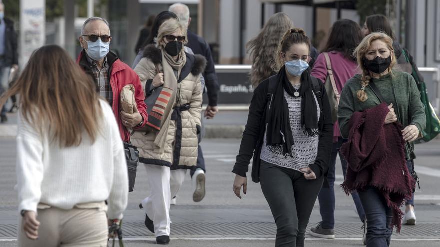 Coronavirus en Baleares: La incidencia sube después de tres días de bajadas pero sin afectación hospitalaria