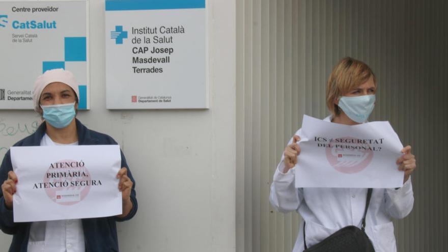 La Intersindical denuncia agressions a professionals del CAP Josep Masdeval de Figueres