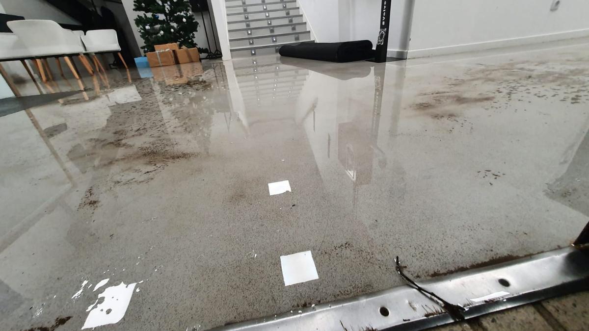 Inundaciones en Balaídos
