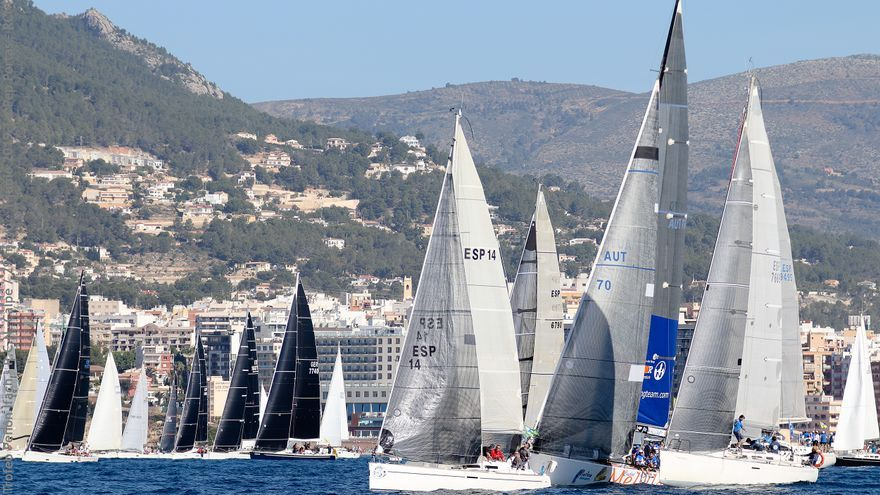 El Trofeo Peñón Ifach cuelga el cartel de completo con 61 barcos inscritos en regata
