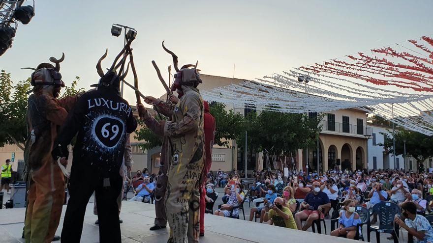 'Dimonis' y pregón para abrir las fiestas patronales de Sant Joan