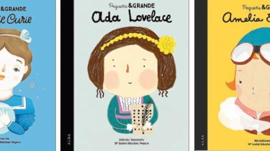 El CSIC alaba la colección infantil sobre científicas de Alba Editorial