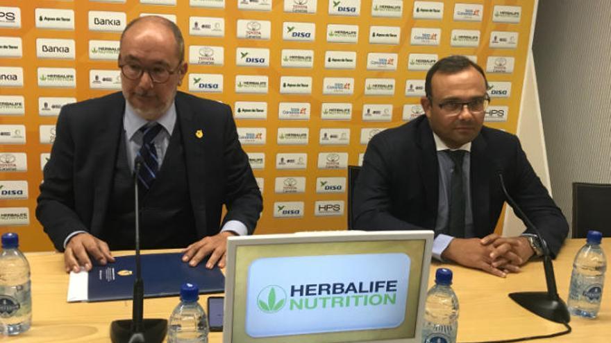 """Moreno: """"El acuerdo con HMK es una gran noticia para el Gran Canaria"""""""