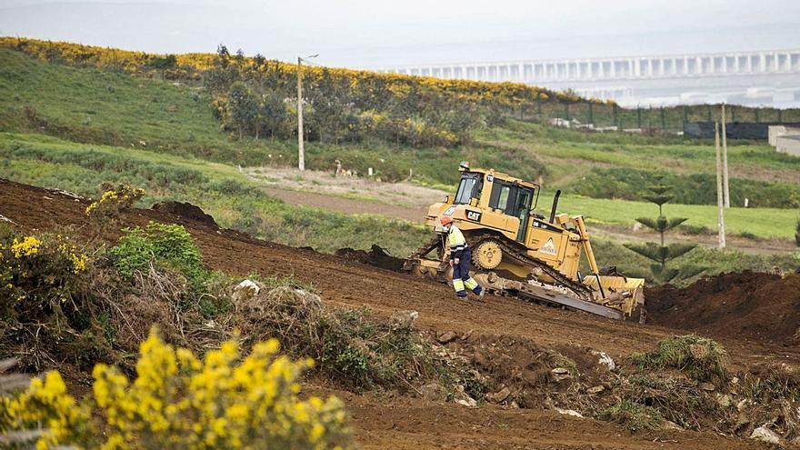 Repsol inicia la construcción del poliducto sin fecha aún para su traslado total a Langosteira