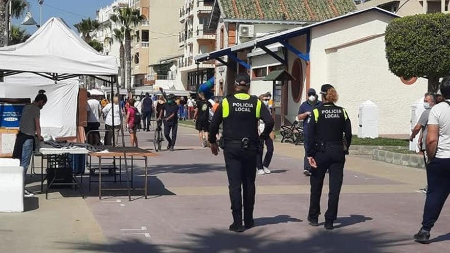 La Policía Local de Rincón de la Victoria interviene en 27 fiestas ilegales durante Semana Santa