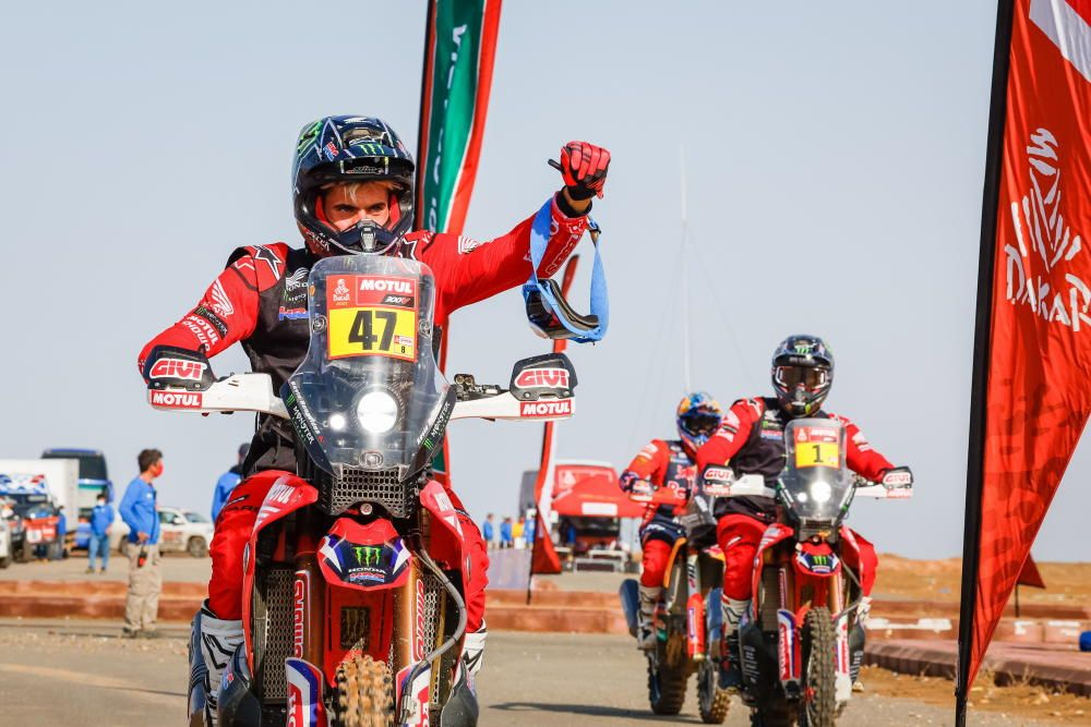 La 12ª etapa del Dakar, en imágenes