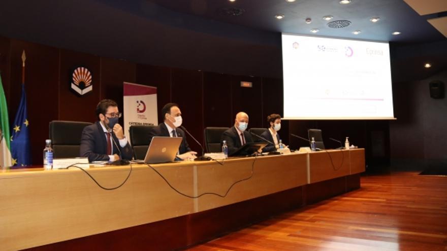 UCO y Diputación apuestan por el desarrollo de la provincia con la Cátedra Eprinsa de Transformación Digital