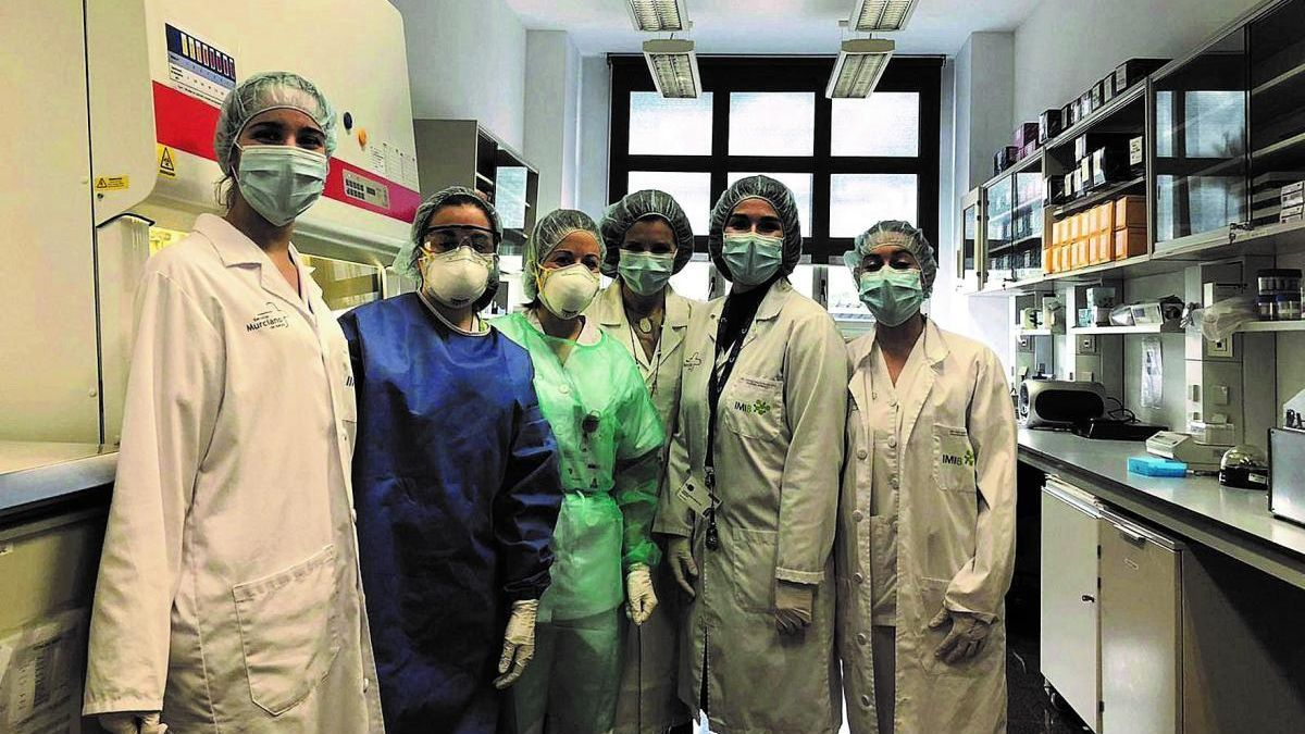 El Biobanco del IMIB ya tiene 6.000 muestras de pacientes para investigar sobre covid