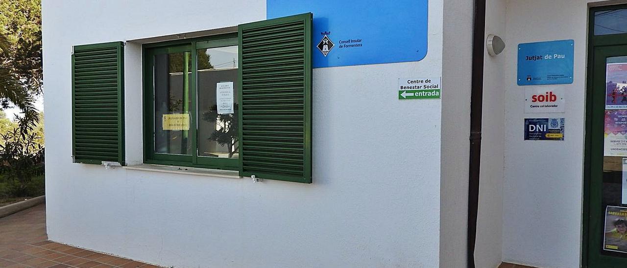 El Juzgado de Paz está en el edificio de Bienestar Social de Formentera. | C.C.